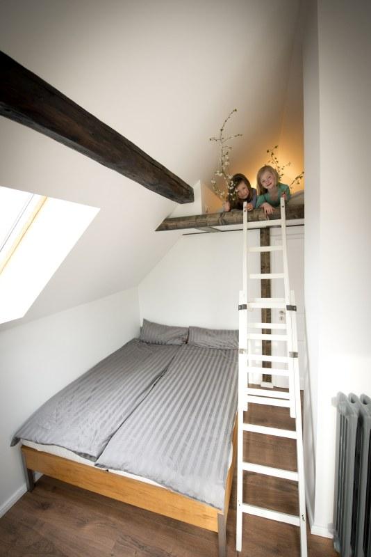 Familienzimmer mit Kindernische mieten am See in Brandenburg