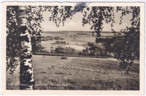 Postkarte von 1940 mit Referenz auf Zöschel (unser Vorgänger)