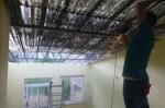 Abflexen des Dachs
