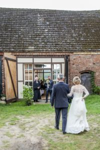Empfang der Braut