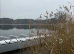 Blick vom Garten auf den See (Westseitig)