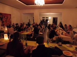 Hochzeitspaarabend im November 2015