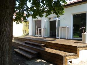 Terrasse Hochzeitslocation am See Brandenburg