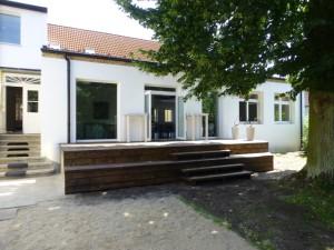 Terrasse Dobbrikow Haus am Bauernsee