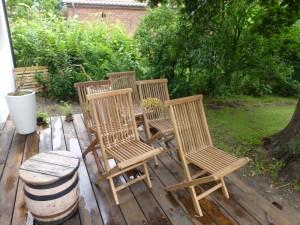 Fünf neue Stühle