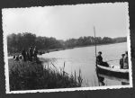 Angler-auf-Boot