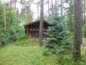 Blockhaus mit großem Garten mieten Dobbrikow