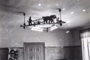 Lampe-Gastraum