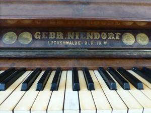 Klavier im Haus am Bauernsee Dobbrikow