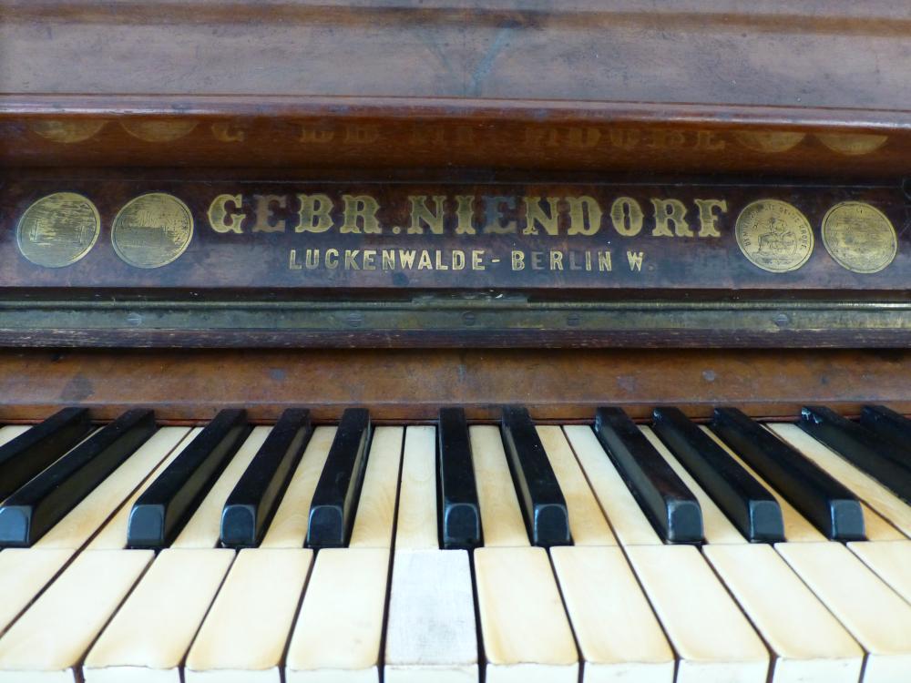 Klavier ist gestimmt!