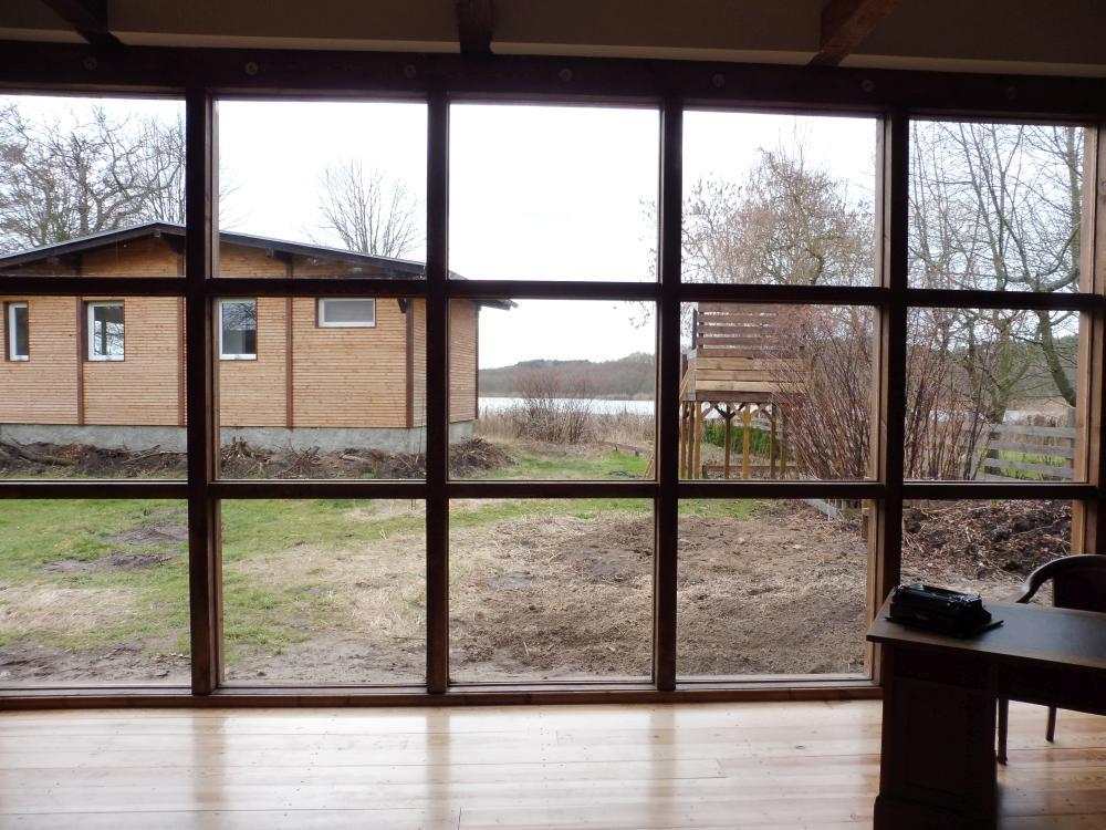 Fensterfront zum See Scheune