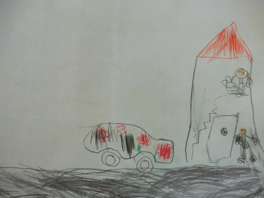 Geschmücktes-Auto