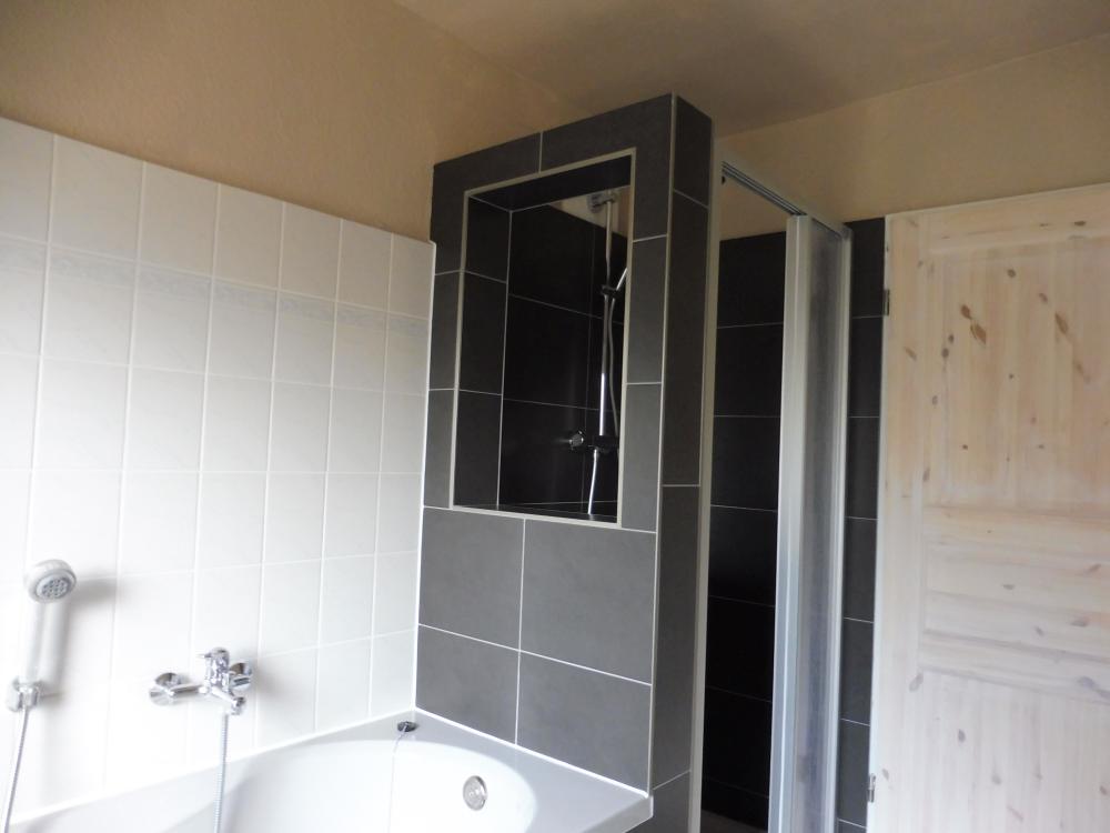 Seehaus-Badezimmer