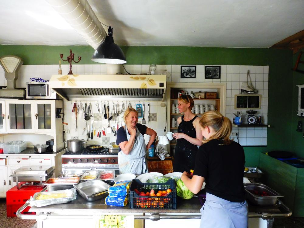 Kochen für Hochzeit im Haus am Bauernsee