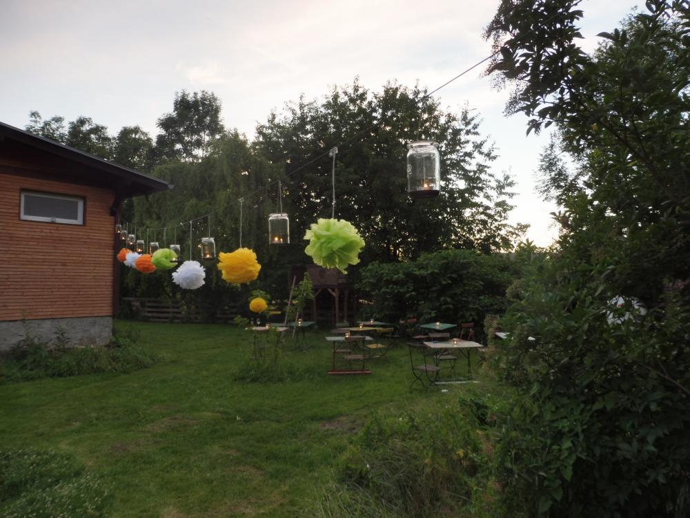 Neue Deko im Garten