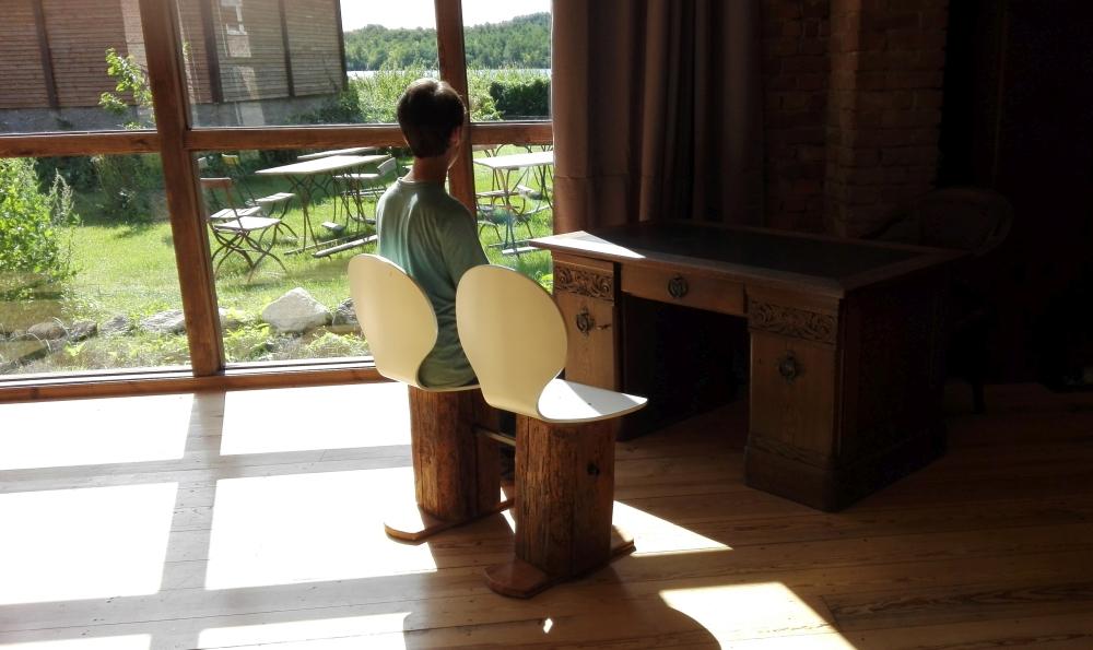 Hochzeitspaar Stuhl für Scheune
