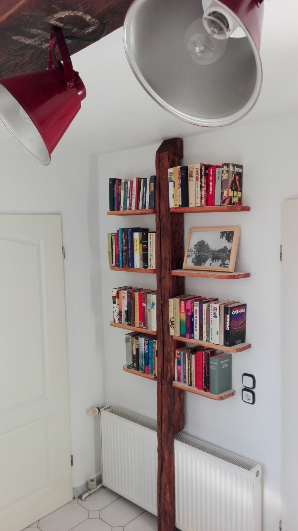 bücherregal #2 seehaus diy -