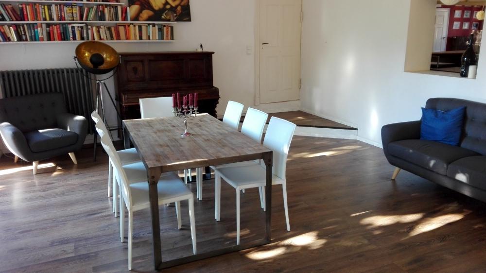 Ausstattung Stühle im Haus am Bauernsee milano leder