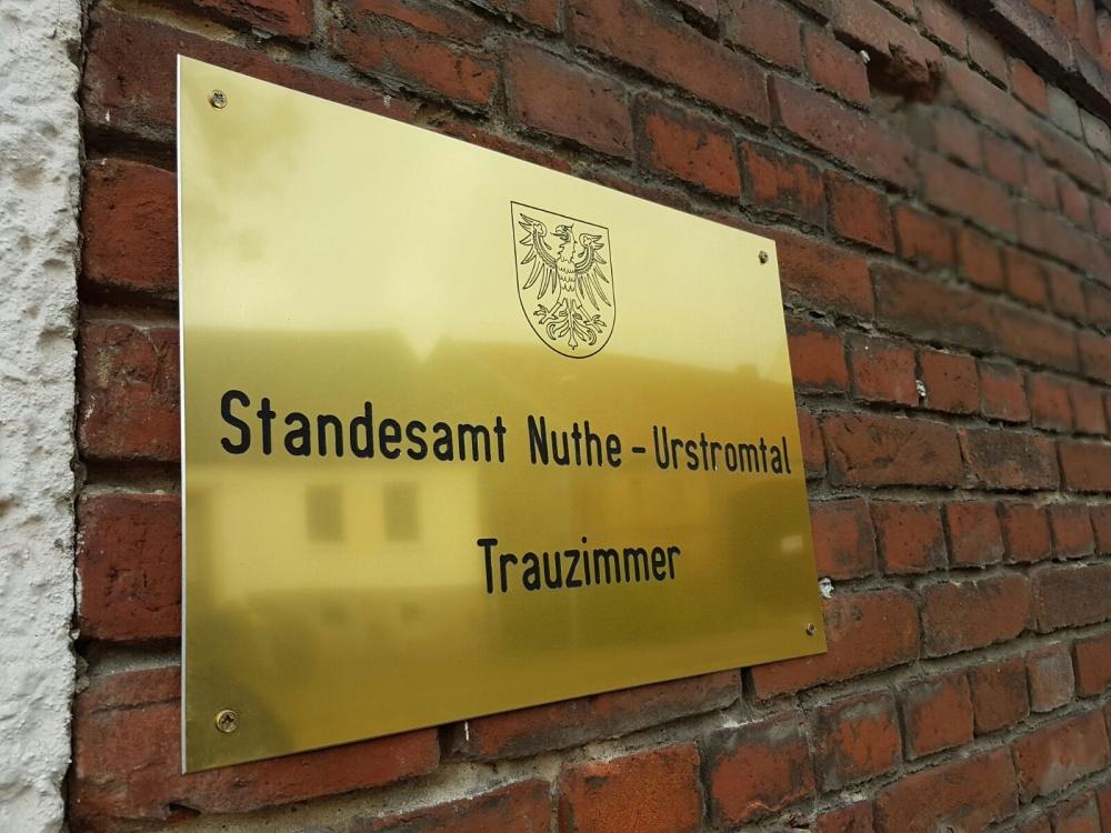 Trauzimmer am See in Brandenburg