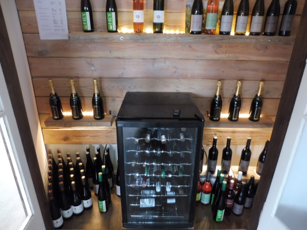 Weinkühlschrank im Weinschrank