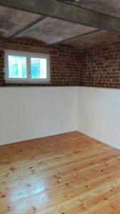 Schlafzimmer Mauersegler Dielenboden geölt