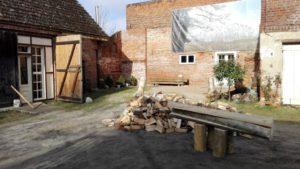 Holz Scheune