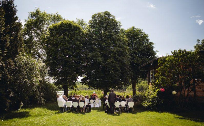 Freie Trauung Garten am See
