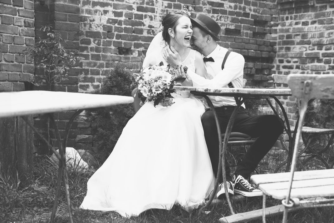 Hochzeit im April von Steffen und Jane