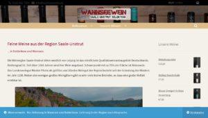 Weinverkauf Saale Unstrut