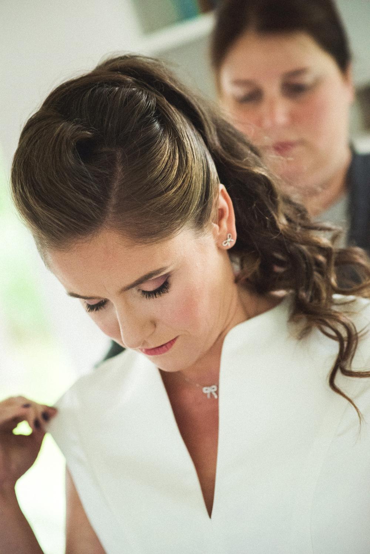Zeremonie in der Scheune