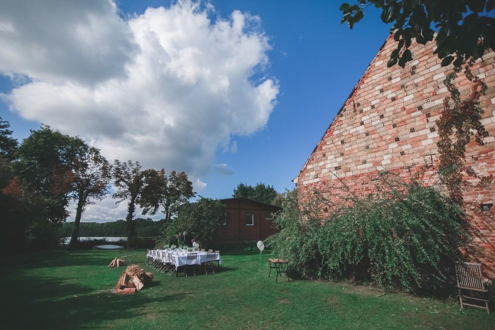 Herbsthochzeit am Bauernsee Hochzeitslocation Brandenburg