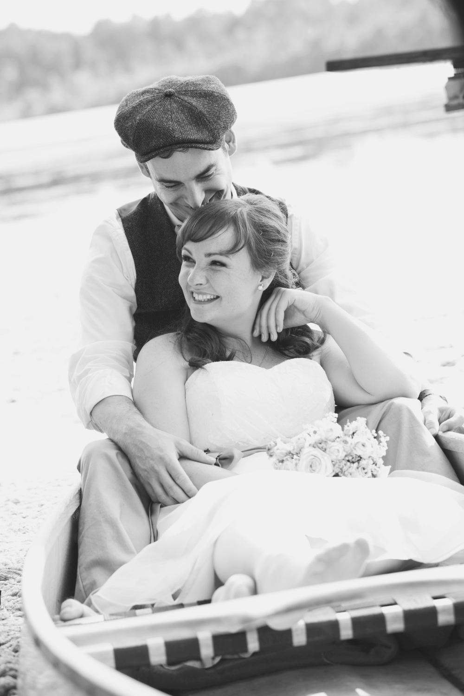 Hochzeit am See Brandenburg