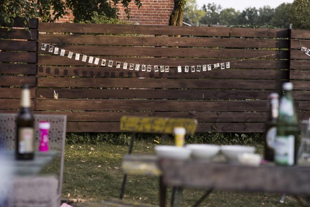 Dekoration Hochzeit Haus am Bauernsee Brandenburg Berlin