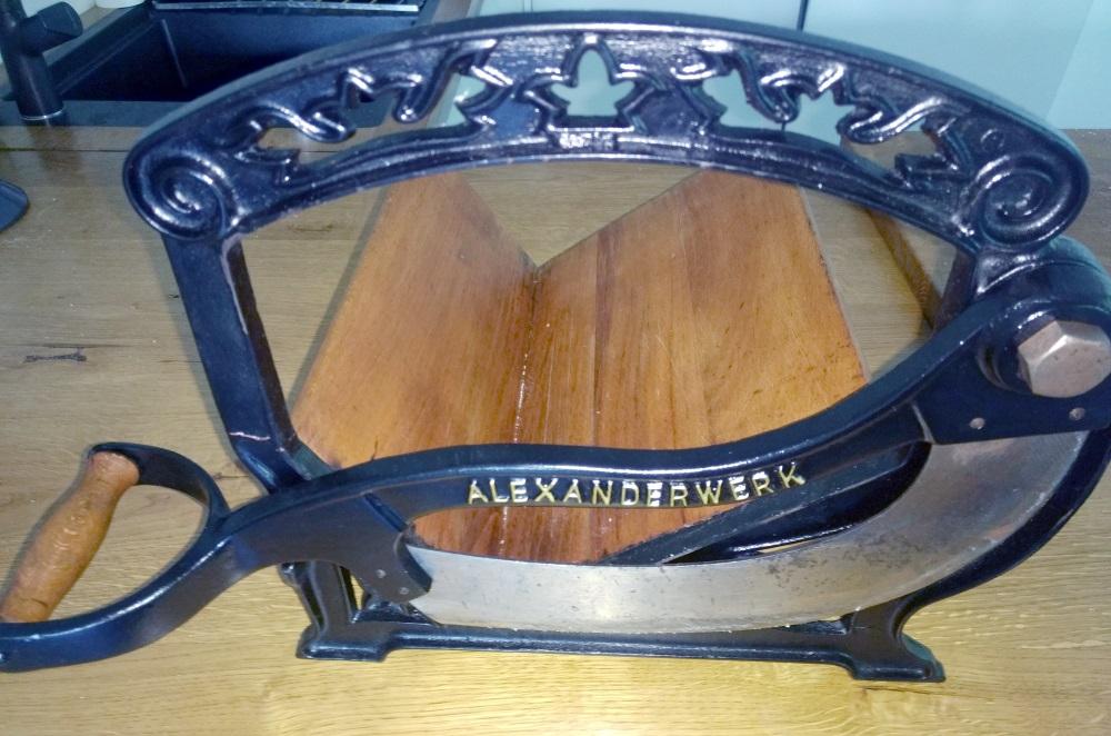 Brotschneidmaschine Alexanderwerk