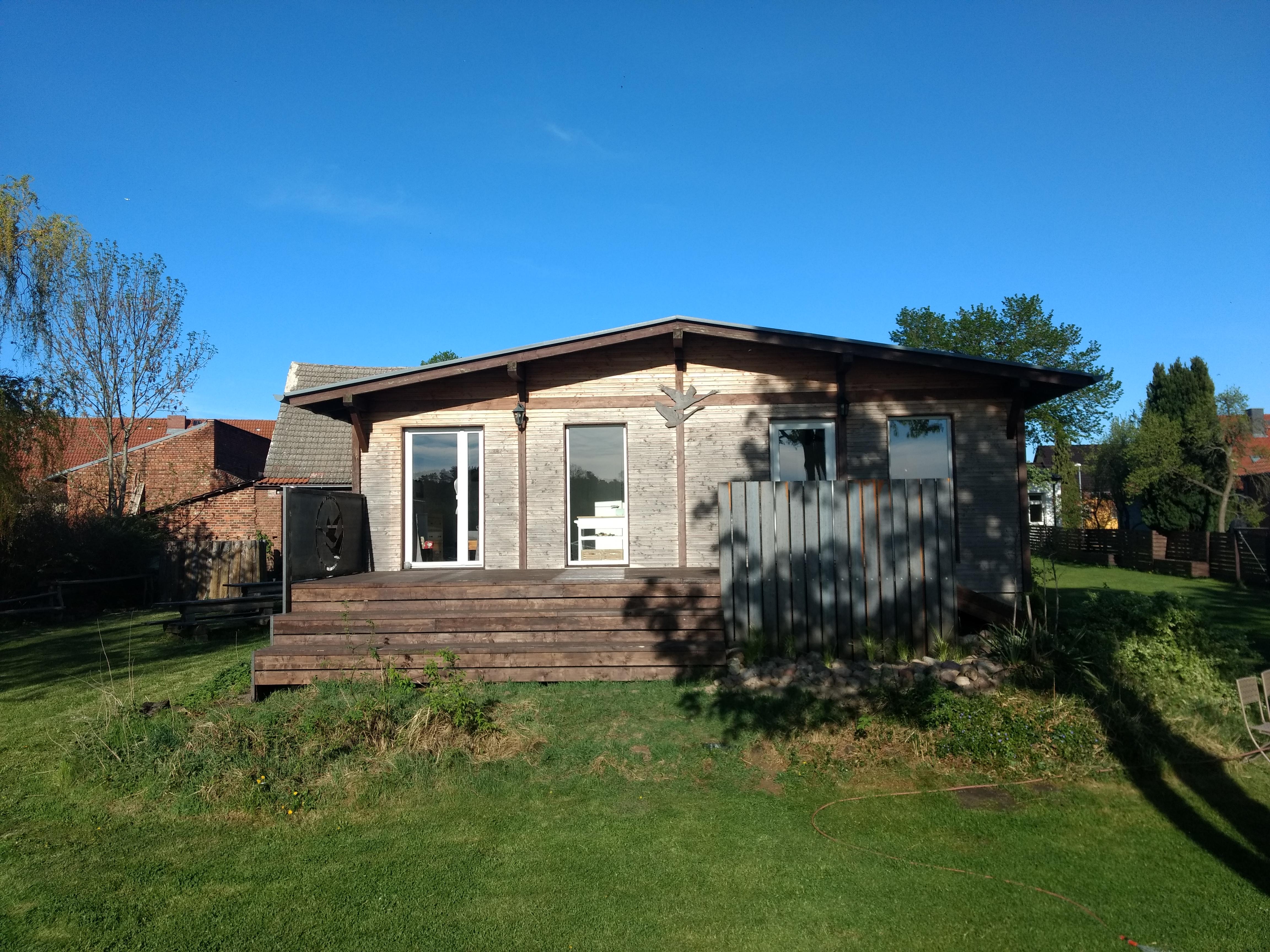 Terrasse Ferienhaus…fertig
